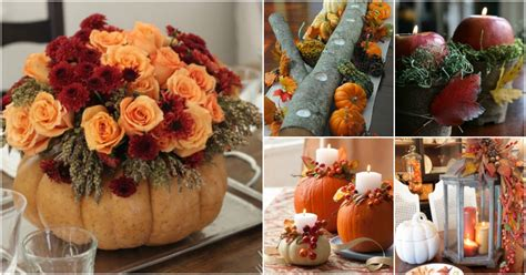 easy to centerpieces for thanksgiving table 21 diy thanksgiving centerpieces that will be the of