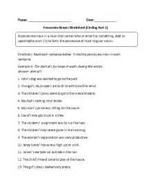 6th grade noun worksheets abitlikethis