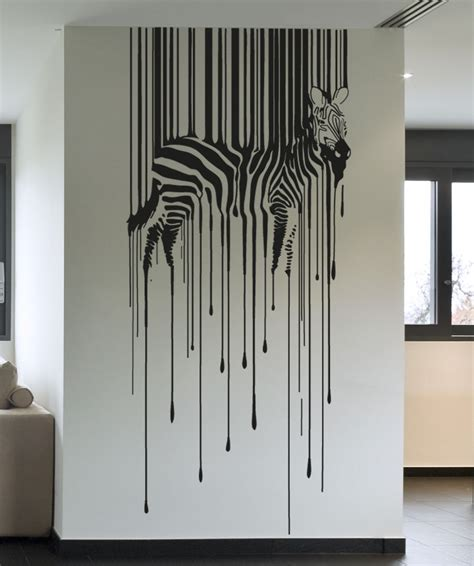 Zebra Print Stickers For Walls wall art designs vinyl wall art decals vinyl wall decal