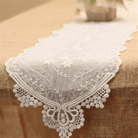 ivory lace runner ivory lace runner 14 x 108 19 95 your fabric