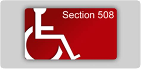 section 508 guidelines compliance and procedures