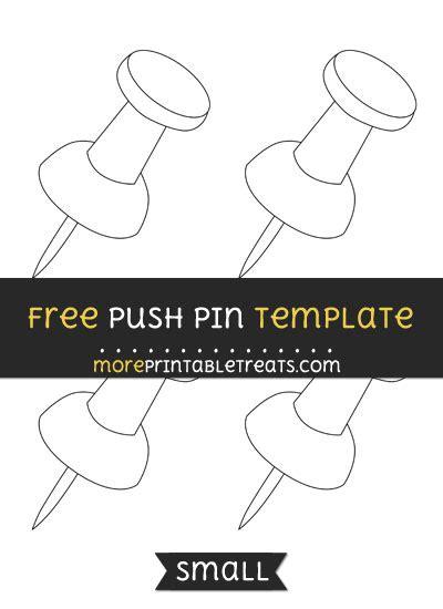 push pin template push pin template small