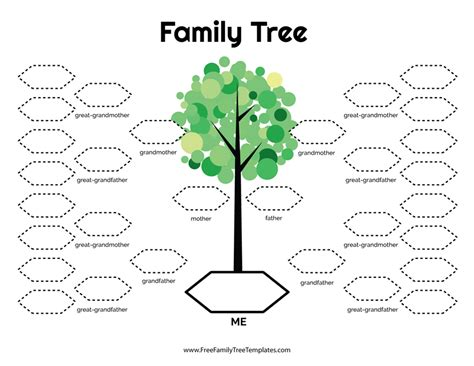 4 generation family tree template free 5 generation family tree template free family tree templates