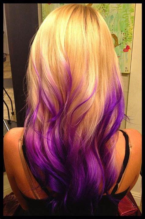 hairstyles blonde and purple purple blonde ombre hairstyles how to