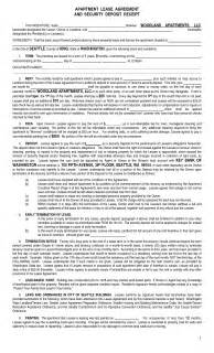 best photos of apartment rental lease agreement form