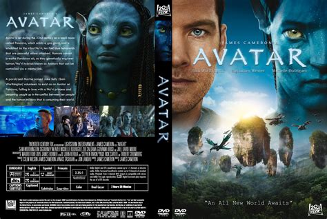 design cover film avatar 2009 movie poster and dvd cover art