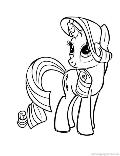 Petit Poney #52 (Dessins Animés) – Coloriages à imprimer