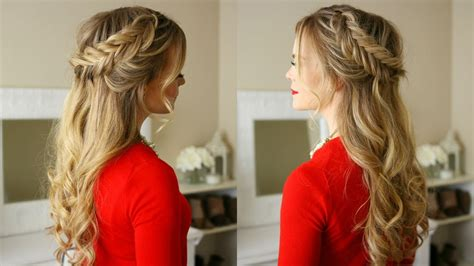 Dutch Fishtail Braids Holiday Hairstyle   Missy Sue   YouTube