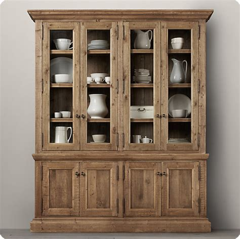 And Hutch Rustic Wood Sideboard And Hutch