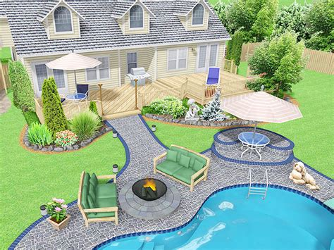 backyard design program free 3d images landscaping style freeware tends to make