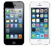 Image result for difference Physical vs iPhone 5 5S