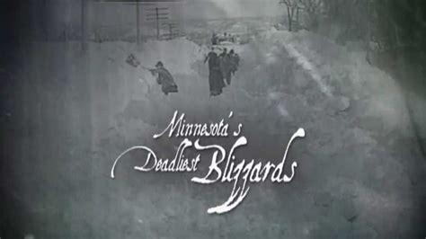 deadliest blizzard in history minnesota s deadliest blizzards cities pbs