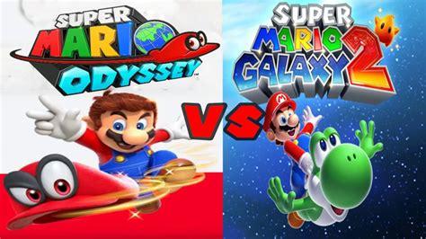 super mario odyssey standard 0744018889 super mario odyssey vs super mario galaxy 2 full comparison youtube
