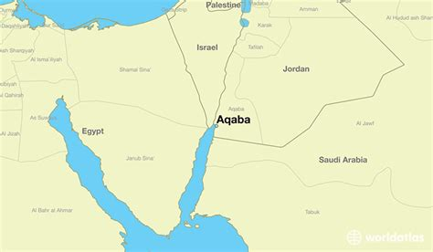 middle east map gulf of aqaba where is aqaba aqaba aqaba map worldatlas