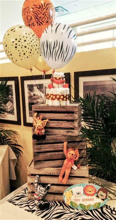 Baby Shower Safari Theme by Best 25 Safari Centerpieces Ideas On Jungle