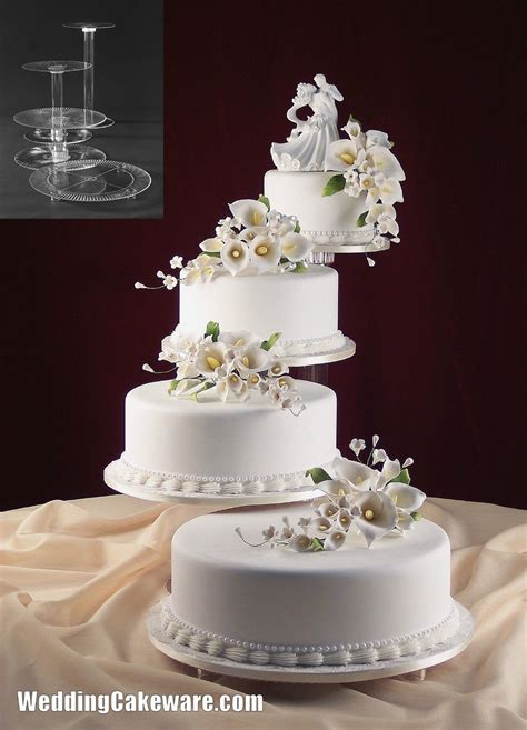 Pin Floating Wedding Cake on Pinterest