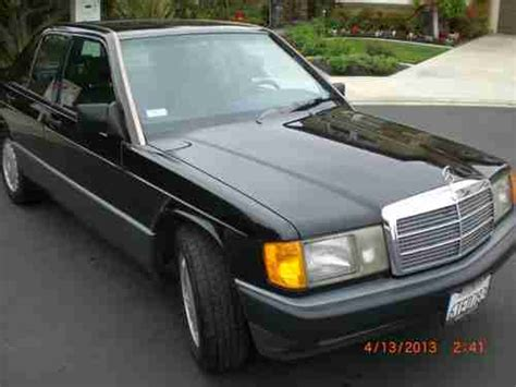 repair anti lock braking 1991 mercedes benz w201 electronic valve timing sell used 1991 mercedes benz 190e 2 6 all original california car runs great no reserve in