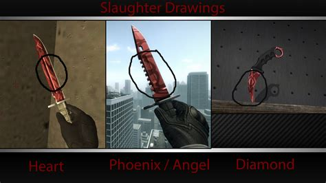 heart pattern slaughter steam community guide cs go knife patterns
