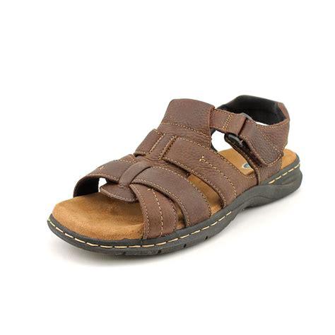 dr scholls mens sandals dr scholl s cain mens open toe leather fisherman sandals