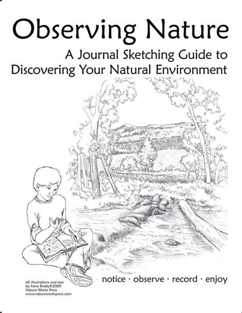 sketchbook guide observing nature journal sketching guide great site with