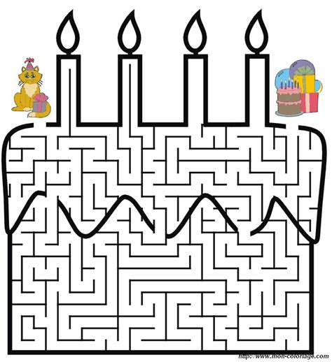 Coloriage De Jeux De Labyrinthe Dessin Labyrinthes 02 224