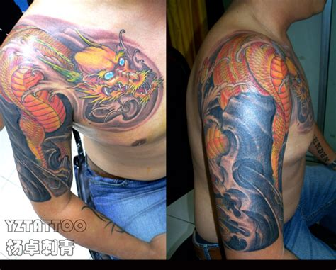tattoo dragon cover up dragon cover up tattoo picture