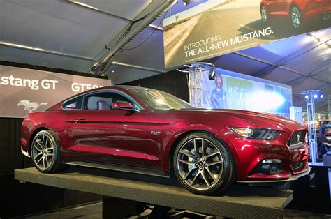 2015 ford mustang rendered in ruby autoevolution