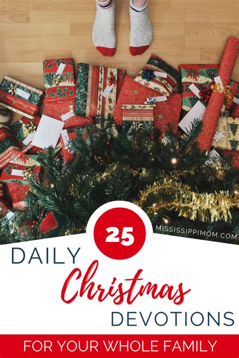 devotion around a christmas tree 25 daily family devotions for the month of december mississippimom