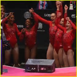 women s gymnastics simone biles cruises into san jose s olympic kate walsh post super bowl lax arrival kate walsh