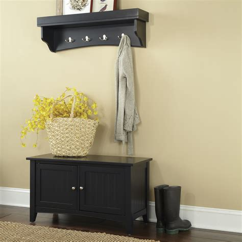 entryway shelves entryway storage shelf black stabbedinback foyer saving space with entryway storage shelf