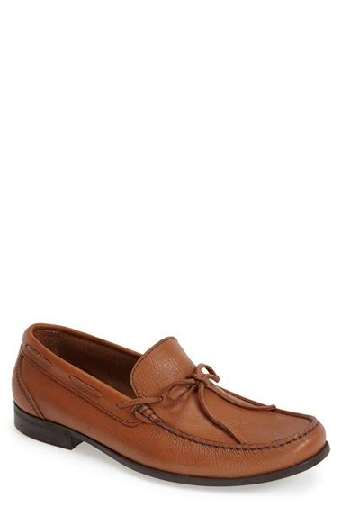 sandro loafers sandro moscoloni porto leather loafer in brown for