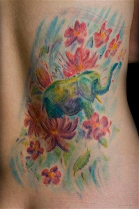 colorful elephant tattoo on shoulder 25 best ideas about colorful elephant tattoo on pinterest