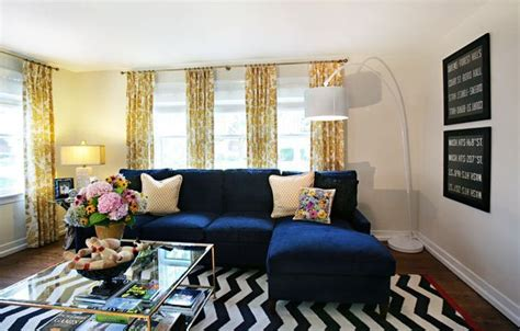 blue and yellow living room navy blue and yellow living room for the home pinterest