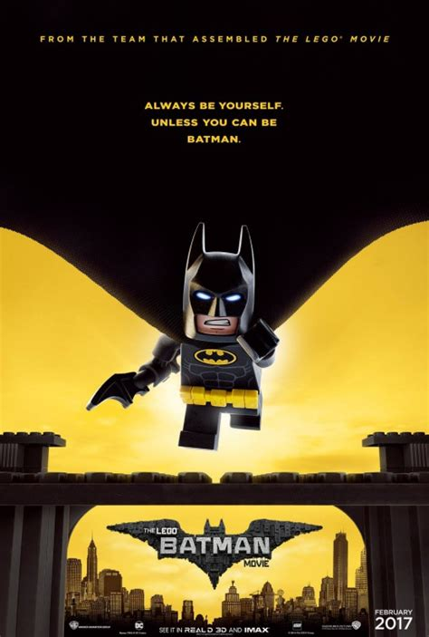 the lego batman movie celebrates batman day with a new poster alien bee entertainment news