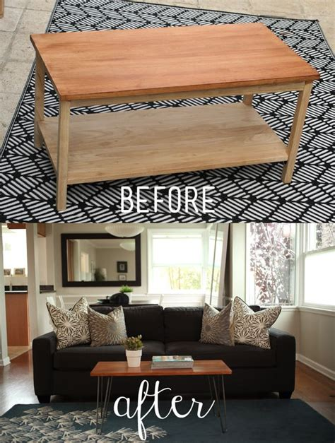 how to make a coffee table into an ottoman transform a traditional coffee table you in your home