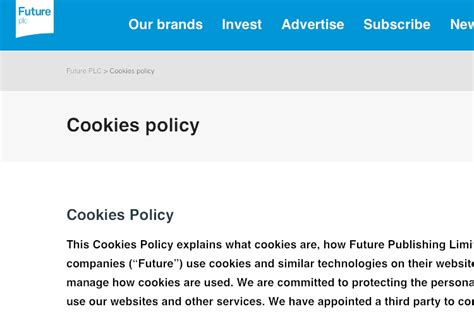 2018 Cookies Policy Template Generator Cookie Policy Templates