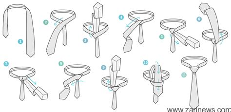 how to tie a tie easy