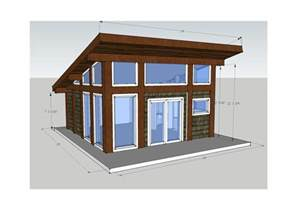 gallery for gt small modern cabins plans