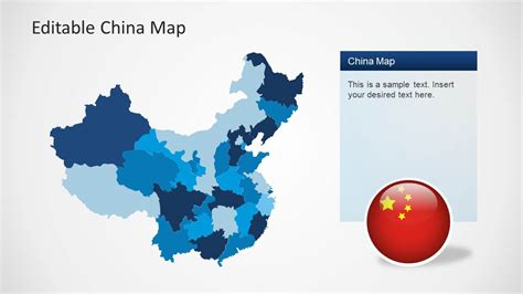 Editable China Map Template For Powerpoint Slidemodel China Ppt Template Free