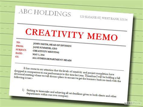 Memo Writing Steps How To Write A Memo With Sle Memos Wikihow