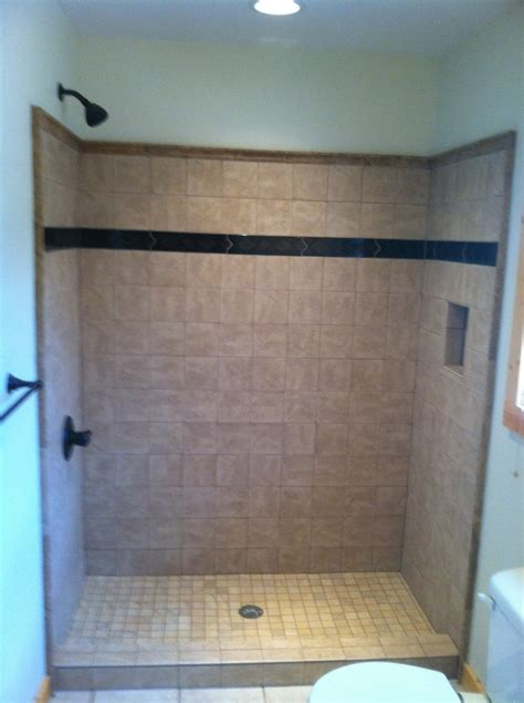 Installing Tile In Shower Tile Shower Installation In Ellijay Ga Blueridge Blairesville And Ga Areas 171 Babcock
