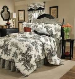 Toile Bedding Sets Black And White Toile Quilt Set Foter