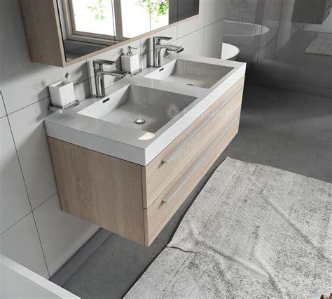 licht eiken badkamermeubel badkamermeubel rome 120cm licht eiken badplaats