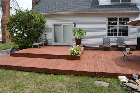 clean  stain  deck stevescape