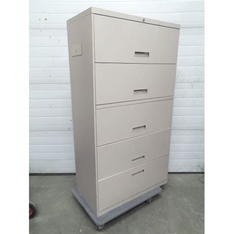 5 drawer locking lateral file cabinet tan 5 drawer lateral file cabinet flip front locking