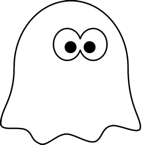 ghost template printable ghost coloring pages ghost