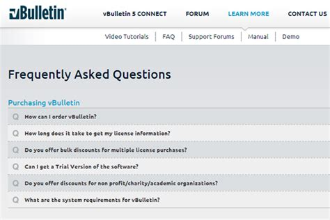 faq layout exles 30 faq webpage layouts with effective user experience