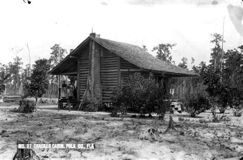 Polk County Florida Court Records Florida Memory Cracker Cabin Polk County Florida
