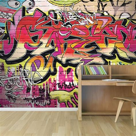 wall murals city city graffiti wall mural grahambrownuk
