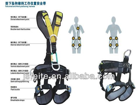 protective safety harness with big hook